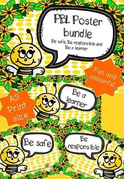 This fun and colourful PBL bundle of posters are designed to assist teachers in teaching positive behaviour in a fun and colourful way. I suggest that it is best to print this poster off in A3 size to have an impact in your classroom, laminate and then hang up.I hope you love this resource and I look forward to hearing your feedback and comments.Please feel free to pin this item on pinterest, share it on Facebook or instagram by using the tabs on the top left of the resources image.