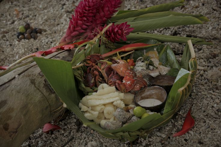 Coconut Crab and Seafood Platter