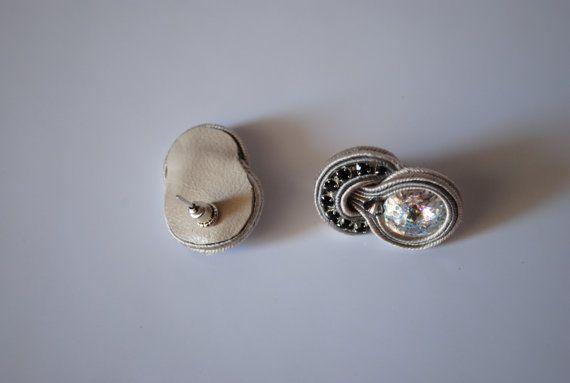 Usar joyas soutache Soutache oficina ocasional de pequeñas