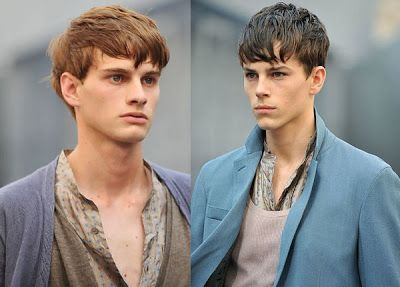 Hairstyles for round faces: Teenage Boys Hairstyles for 2009