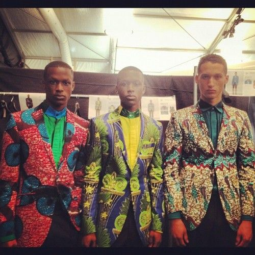 Nothing But the Wax: OZWALD BOATENG.... Just a matter of style!