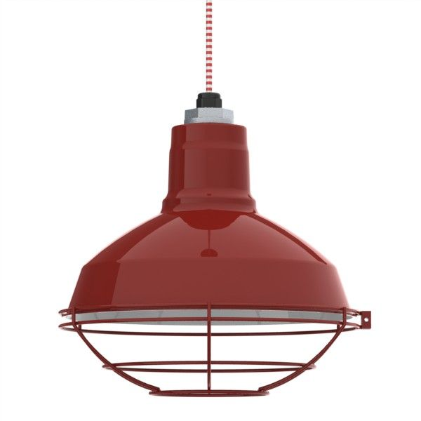 Without The Protector On Bottom Half Another Potential Option Drake Cord Pendant Factory Shade