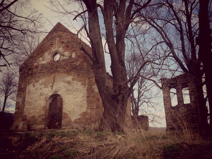 Krywe, cerkiew, Bieszczady