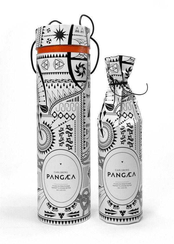 PANGÆA by Louise Dupont, via Behance #beer loving #packaging peeps PD