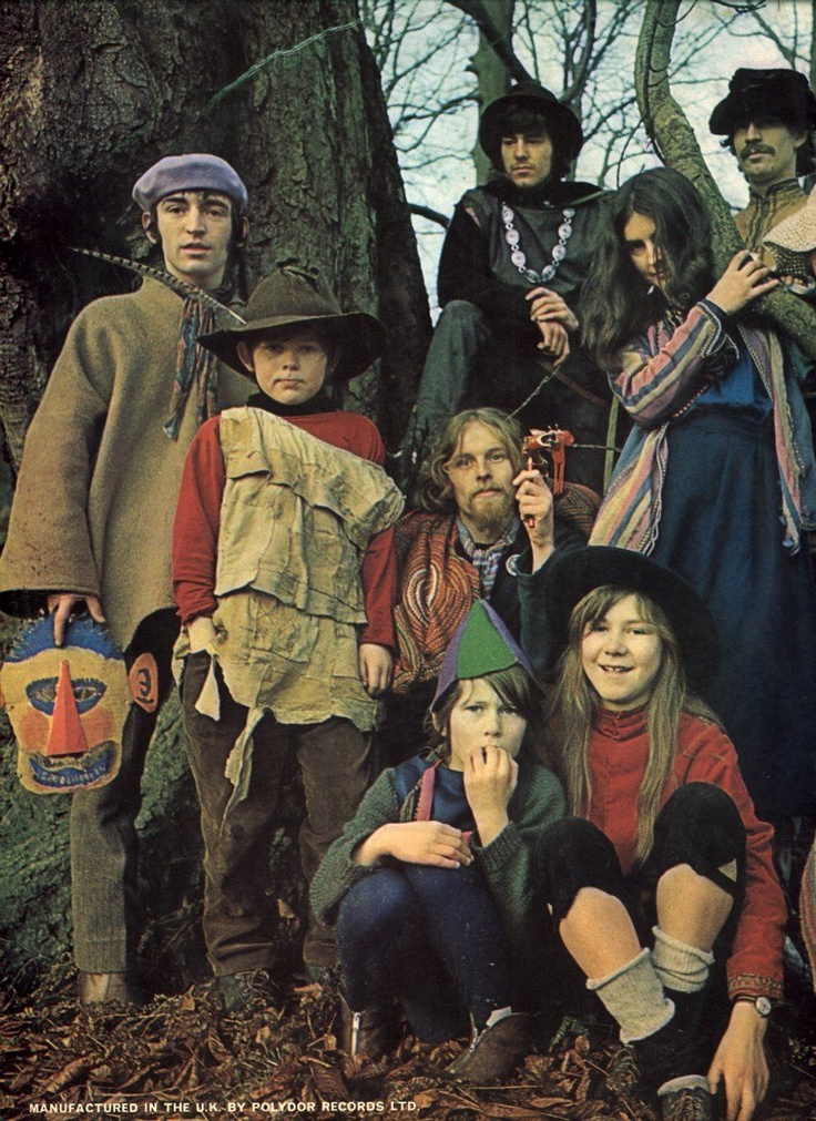 The Incredible String Band (sometimes abbreviated as ISB) were a psychedelic folk band formed in Scotland in 1966. The band built a considerable following, especially within the British counterculture, before splitting up in 1974. The group's members are musical pioneers in psychedelic folk and, by integrating a wide variety of traditional music forms and instruments, in the development of world music.