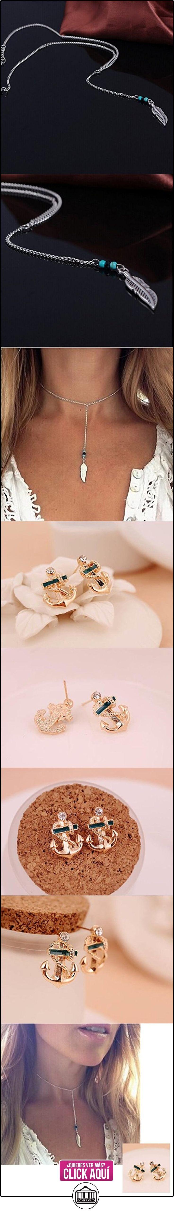 Malloom®venta caliente mujeres joyas estilo bohemio turquesa la forma de la pluma la borla colgante declaración de la cadena collar  ✿ Joyas para mujer - Las mejores ofertas ✿ ▬► Ver oferta: http://comprar.io/goto/B00YGJ7GK8