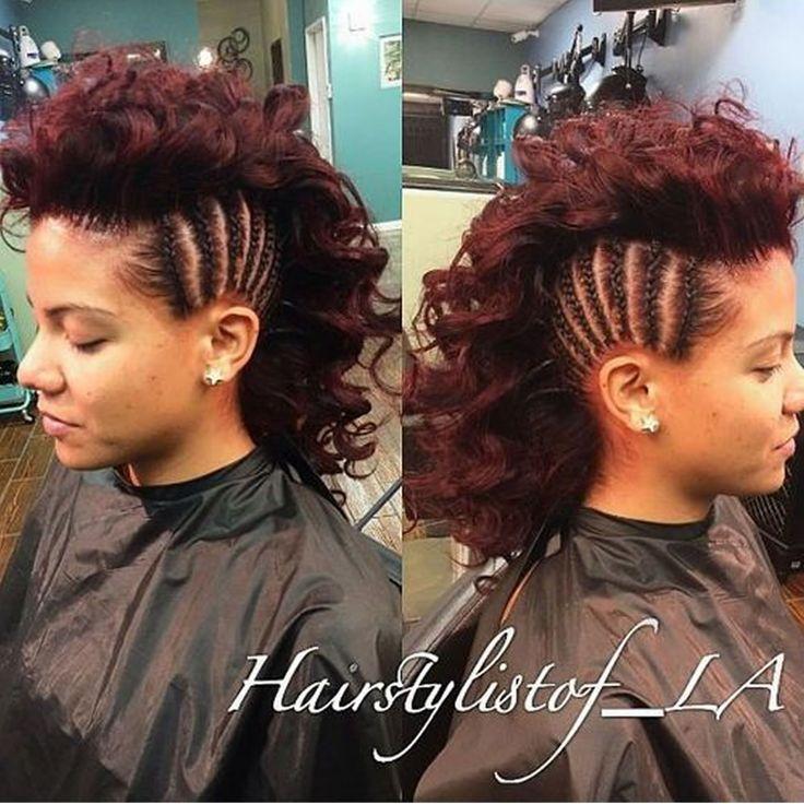 30 Glamorous geflochtene Mohawk Frisuren für Mädchen und Frauen