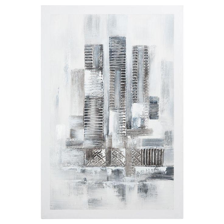 Maison du monde Toile blanche 60 x 90 cm ARCANE Dimensions (cm) : H 90 x L 60 x PR 3  39,99 €