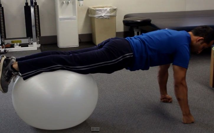 Core Strengthening The Right Way - In this video I am going to show you a core strengthening technique to build abdominal strength, low back strength and shoulder stability.     #CoreStrengthening #BackPain #BackInjury  http://www.tridoshawellness.com/core-strengthening-the-right-way/