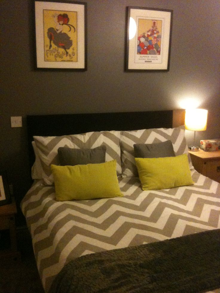 Grey And Yellow Bedroom Ideas (mine)