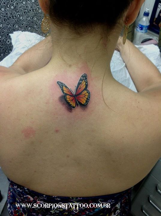 I know butterflies are done but love the realism.