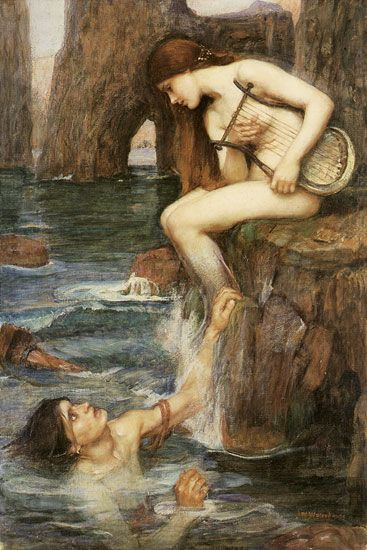 John William Waterhouse- Siren
