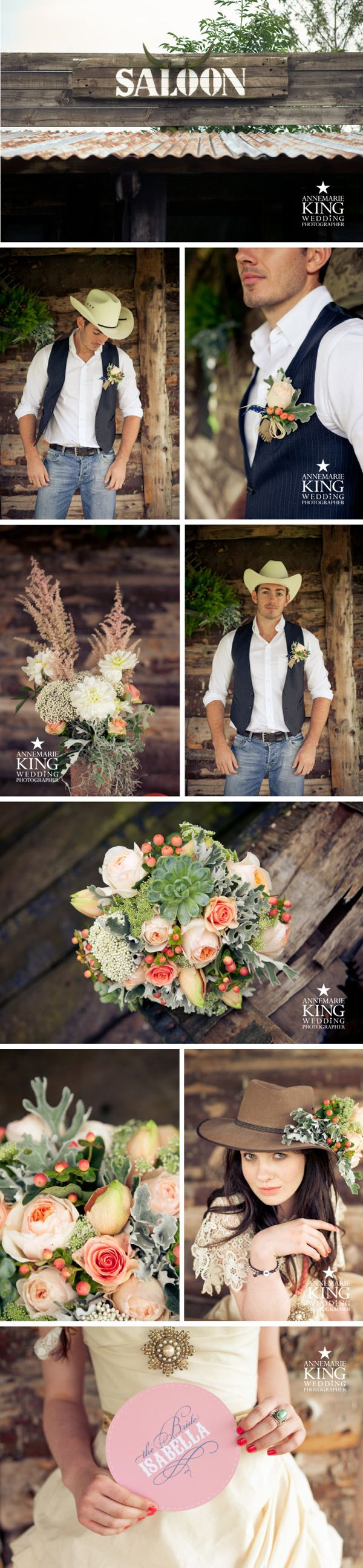 Country & Western wedding by Annemarie King : York Wedding Photographer