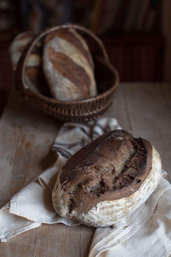 pane di grano arso