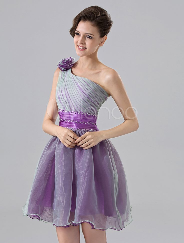#Milanoo.com Ltd          #Homecoming Dresses       #Grape #Purple #One-Shoulder #A-line #Flower #Organza #Satin #Homecoming #Dress                         Grape Purple One-Shoulder A-line Flower Organza Satin Homecoming Dress                                  http://www.seapai.com/product.aspx?PID=5682603