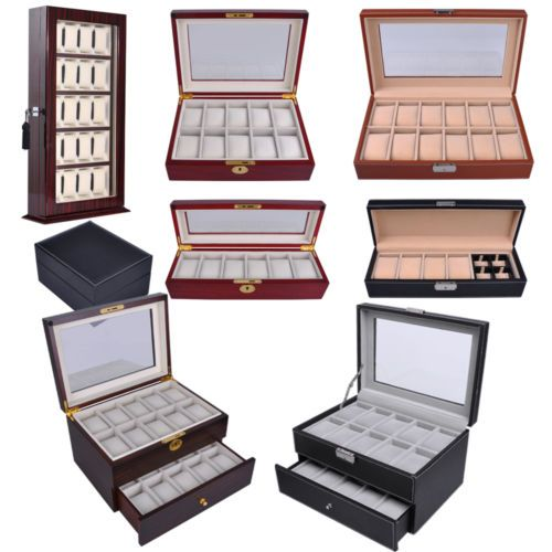14 best Watch Boxes images on Pinterest Watches Clocks and