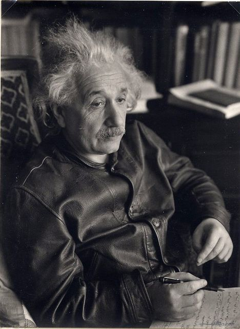 """""""Never memorize something that you can look up."""" (Albert Einstein): Photos, Lott Jacoby, Famous People, 1938, Leather Jackets, Albert Einstein, Inspiration People, New Jersey"""
