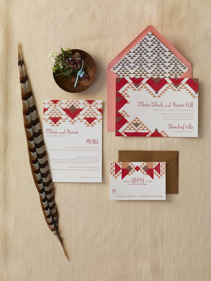 Fall Stationery Trends |  Rachel Foster Photography | Theknot.com