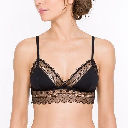 MARYLINE - Soutien-gorge triangle sans armatures - lingerie | Princesse tam.tam