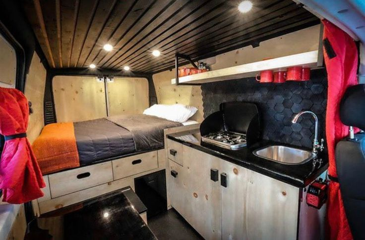 Living out of a van has never looked this good | Inhabitat - Green Design, Innovation, Architecture, Green Building
