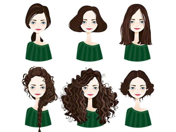 Yüzünüze uygun saç kesimleri