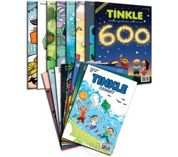 """It's an issue like never before—a collector's edition with new size, more pages, and lots of fabulous content! Every feature and story has been given a special look, just for this issue"". TINKLE DIGEST is a 96-page comics book in pocketbook size. It contains stories and features from back issues of TINKLE magazine. Subscribe Tinkle + Tinkle Digest (Combo) Online on Infibeam with the lowest price in India."
