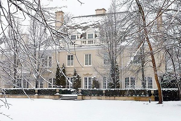 A grand manor home in Winnetka's Indian Hill Club