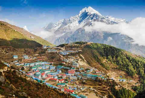 Namche Bazar, Khumbu district, Himalayas, Nepal