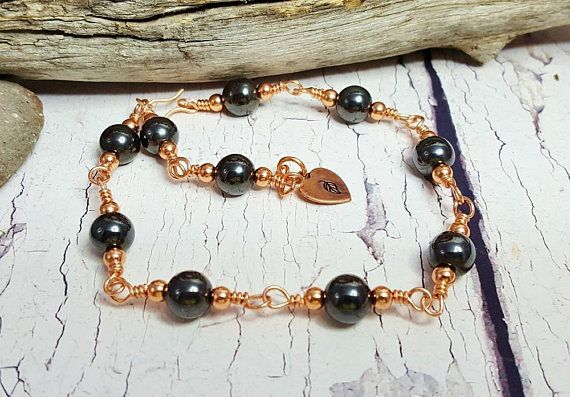 Handmade Healing Copper Bracelet  Anxiety & Stress Relief