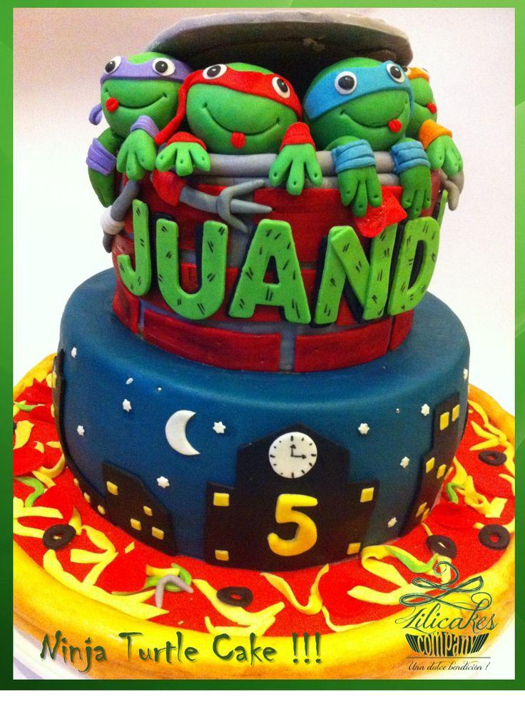 Ninja Turtle Cake !