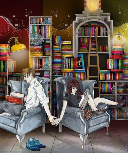 Los libros nos unen.