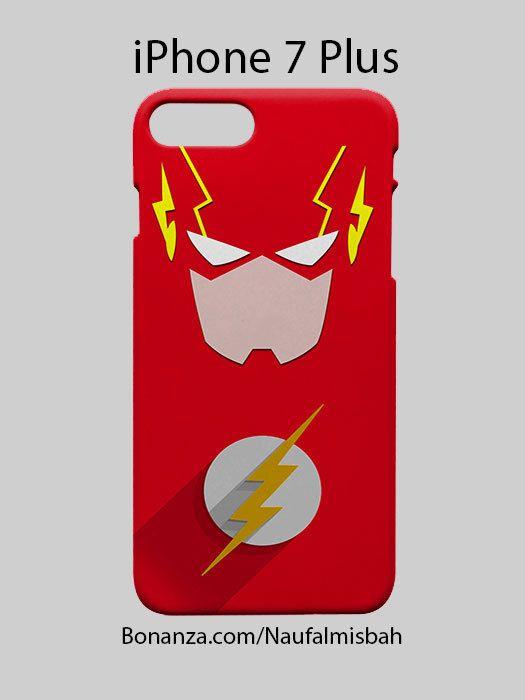 Flash DC Minimalist Superhero iPhone 7 PLUS Case Cover Wrap Around