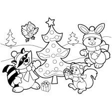 Image result for christmas coloring pages free