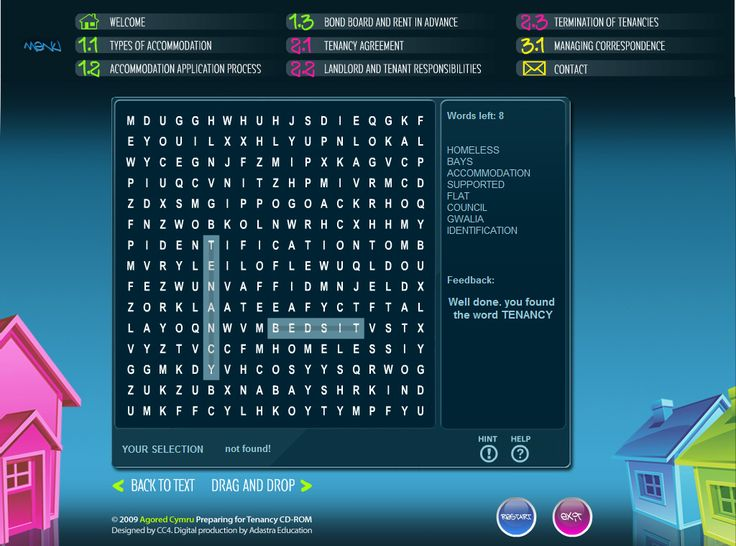 Interactive educational wordsearch resource created by Genieseye.
