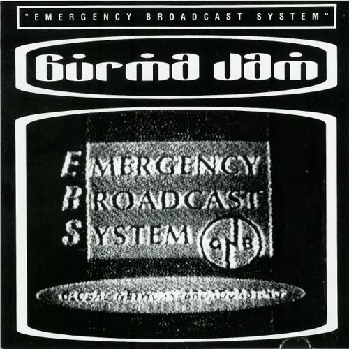 """Burma Jam's """"Emergency Broadcast System"""" was their first full-length vinyl release in the late 80's. From Richmond, Virginia, Burma Jam was known for their punk rock reggae and dub jams."""