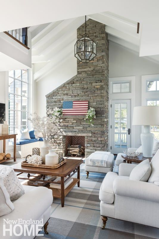 Rooms With A Coastal View New England Home Magazine Beautiful Living Rooms House And Home Magazine Country Style Living Room