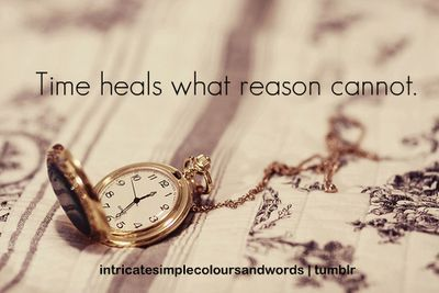 My experience has been/is; time does not heal, but creates scar tissues of protection. Time may promote healing, but it's a poor beautician!