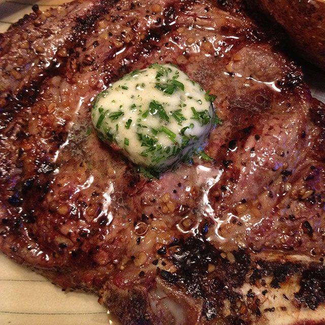 Perfect Rib Eye Steak - keviniscooking.com