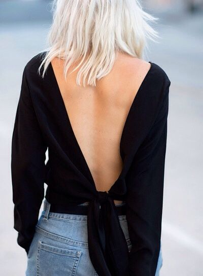 love a good backless number - TheyAllHateUs