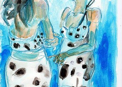 Giulia Salza - Le furie blu - Samo