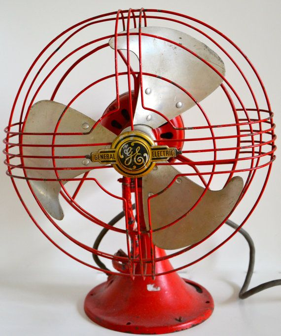 General Electric cooling fan by FamilyRoomNY on Etsy