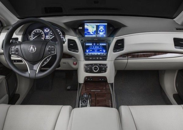 2014 Acura RLX Sport Hybrid Dashboard 600x426 2014 Acura RLX Sport Hybrid Full Review with Images