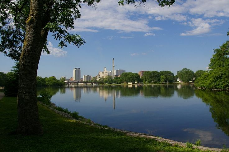 Silver Lake in downtown Rochester, MN http://www.justinrochester.com/
