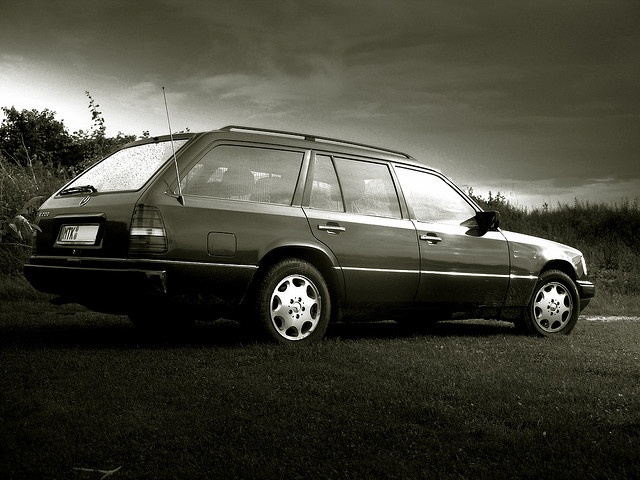 MB W124 T This was my first Mercedes in 1988!