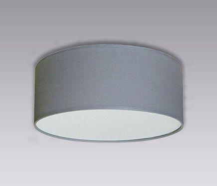 Plafón 2 luces Inspire NICOLE GRIS PIEDRA Ø30 CM - Leroy Merlin
