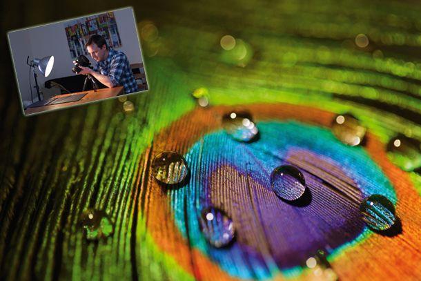 Macro water drop photography: how to capture colour abstract close-ups at home | Digital Camera World