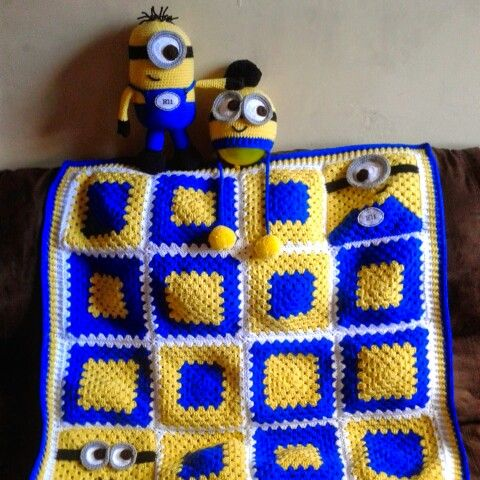 Crochet Pattern For Minion Blanket : 1000+ ideas about Crochet Minion Hats on Pinterest ...