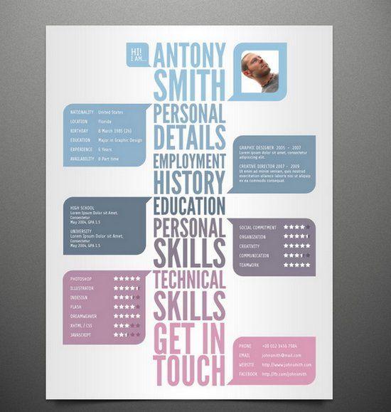 5 free resume template