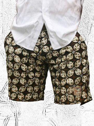 """Kawon. Javanese Royal designs traditionally reserved to the royalty. """"The Kawung"""", symbolizing power, justice and respect. Original batik process."""