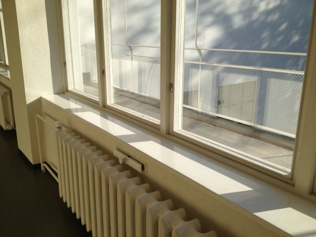 Библиотека Аалто в Выборге. Коридор второго этажа. Фотография © «ДНК аг»